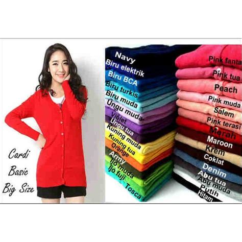 Bolero Jumbo Size fit to xl xxxl cardigan basic big size jumbo size rajut