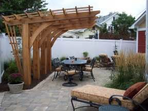 New Patio Ideas New Patio Pergola And Water Feature Makes This Backyard A