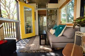 living single this tiny house might be for you 224 square tiny house trailer interiors tours