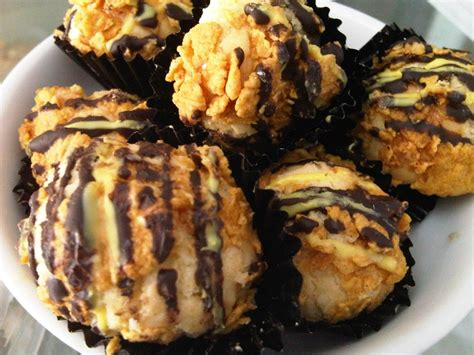 Cokelat Praline Talas Dgn Corn Flakes resep kue kering cokelat corn flakes resepkoki co
