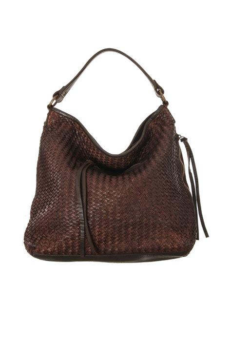 Woven Handbag tano woven leather handbag from pittsburgh by roberta