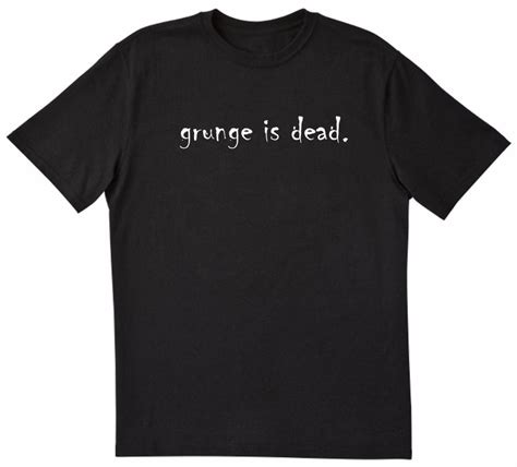 T Shirt Kurt Cobain Black grunge is dead kurt cobain of nirvana cool rock t shirt black