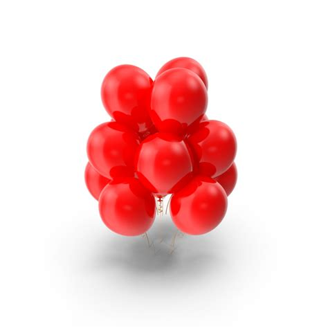 red balloons png images psds   pixelsquid