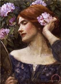 Vanities Paintings William Waterhouse Vanity Vanitas Painting Vanity