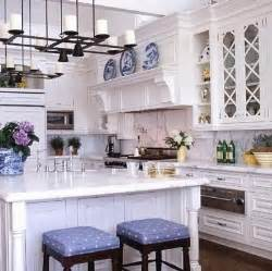 Blue And White Kitchen by The Glam Pad 25 Classic White Kitchens With Blue Amp White