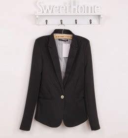Baju Atasan Kerja Kemeja Biru Hitam Putih Blouse Wanita Korea Import kemeja kerja wanita import biru tua lengan panjang model