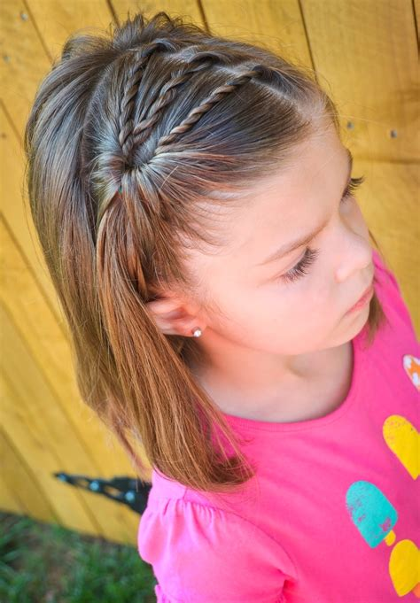 cute hairstyles on yourself 25 little girl hairstyles you can do yourself