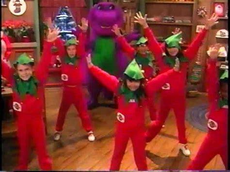 barney and the backyard gang christmas the elves rap barney wiki fandom powered by wikia