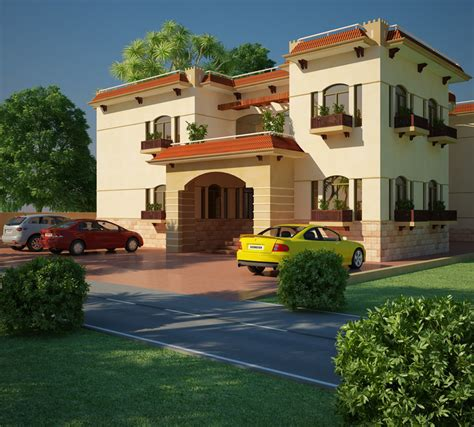 Four Bedroom House Floor Plans by Modern Beautiful Duplex House Designs Home Design