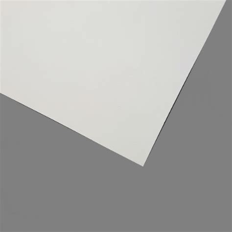 White Painted One Side Hardboard 3mm Atlantic Timber