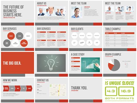powerpoint design course london universal pitch deck two powerpoint template on behance