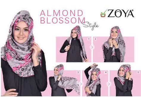tutorial hijab pesta zoya tutorial hijab modern by zoya