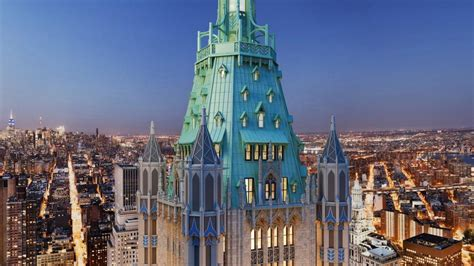 New York Real Estate Records The Penthouse Of New York S Iconic Woolworth Building Is On Sale For 110 Million