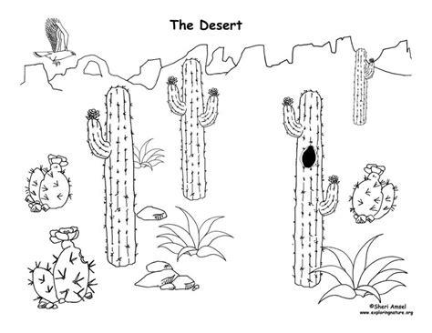 printable diorama animals desert diorama
