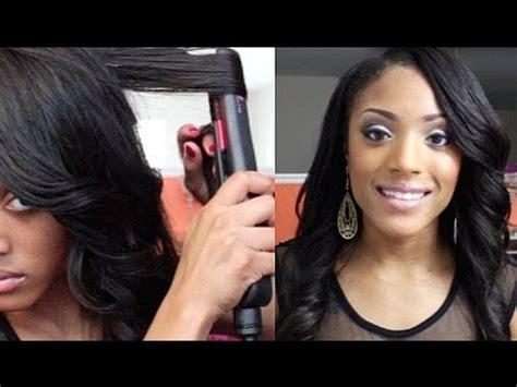 curl  hair  flat ironstraightener youtube