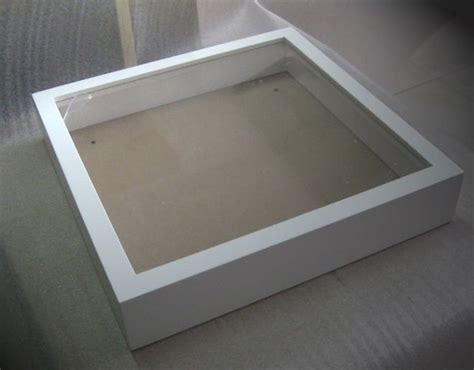white color 3d box frame high quality and hot selling in