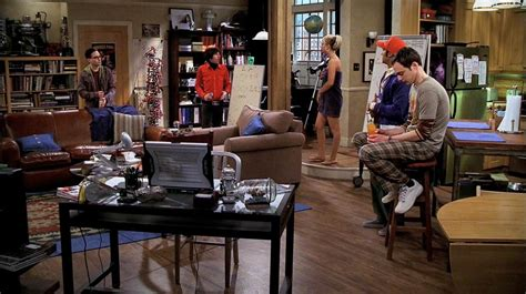 the big bang theory apartment 17 times tv shows and movies gave us apartment envy