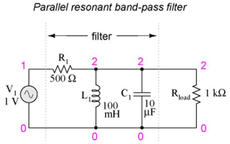 low pass filter load impedance feee fundamentals of electrical engineering and electronics resonant filters