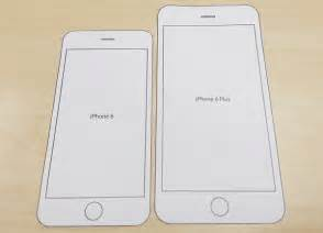 Iphone Cut Out Template by Print This Paper Template To Find Out How Each Iphone 6