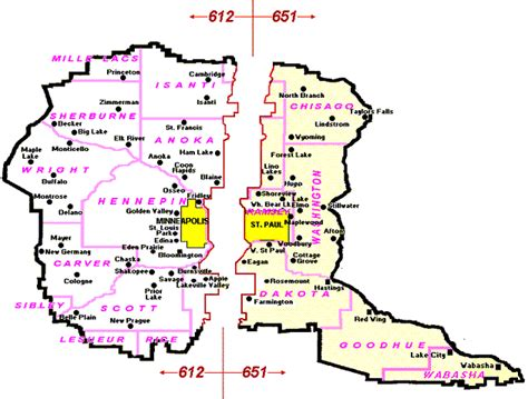us area code 612 timezone image gallery 612 area code