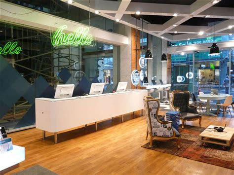 home design stores wellington telecom store by gascoigne associates designworks