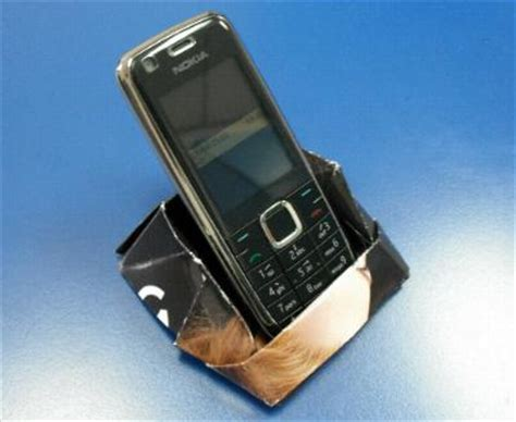 Origami Phone Holder - origami mobile phone holder invention