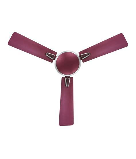Krystal 48 Lenerco Ceiling Fan Purple Price In India Buy Purple Ceiling Fan