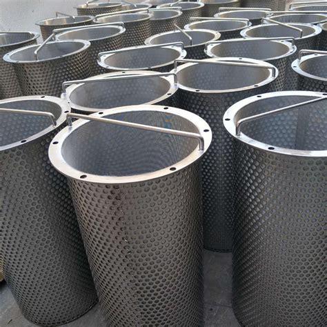 screen baskets perforated basket strainer screen basket strainer hebei geluorui filter tech co ltd