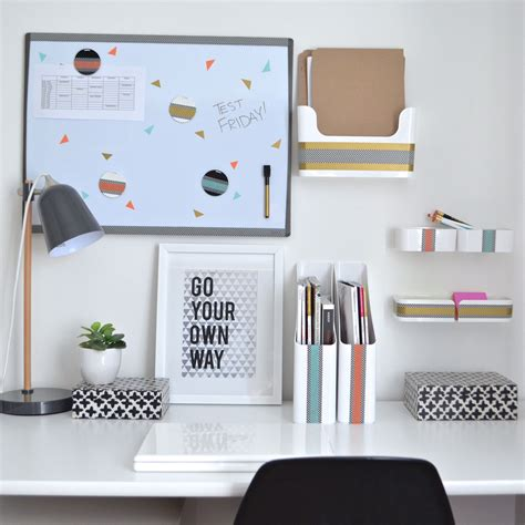 College Desk Organization Inspiration That Sticks College Desk Organization