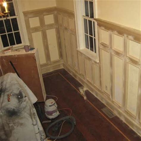 Custom Wainscoting the project tally custom wainscoting for 4 49 a square foot this house