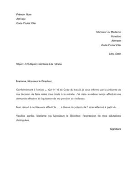Modèle De Lettre De Remerciement Pour Retraite Modele Lettre De Demission Depart En Retraite Document