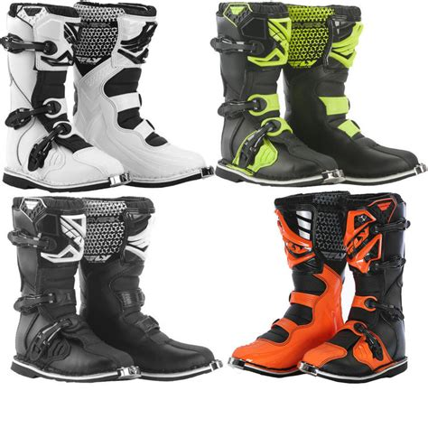 motocross boots youth fly racing 2016 youth maverik motocross boots boots