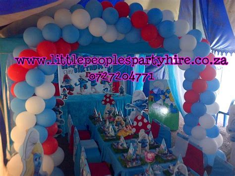 Smurfs Baby Shower Theme by Smurf Themed By Peoples Hire