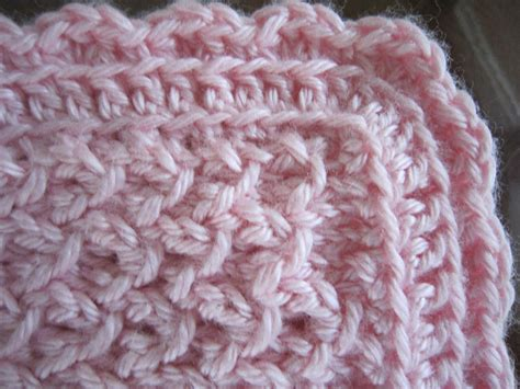 how to crochet a border on a knitted blanket sea trail grandmas free knit pattern newborn hat and
