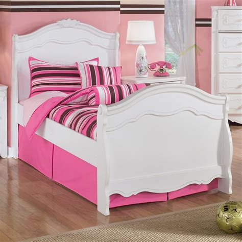ashley twin bed signature design by ashley exquisite twin sleigh bed with