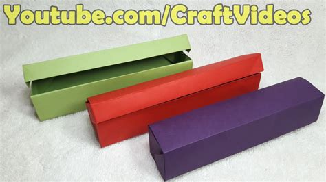 How To Make Pencil Box With Paper - teachers day origami gift ideas easy how to make origami