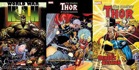 thor heroes return omnibus comics ot october 2017 all new all different rebirth resetera
