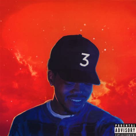 Coloring Book Album Chance The R Er Rapper