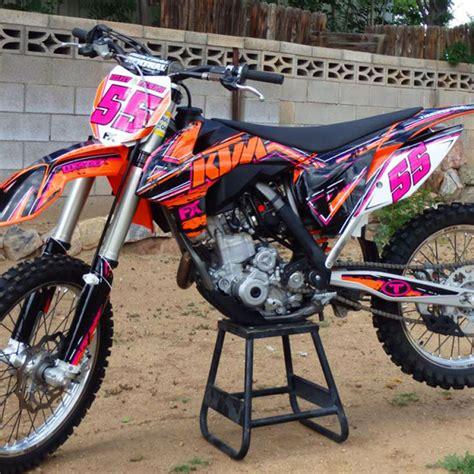 ktm sx sxf custom dirt bike graphics image gallery