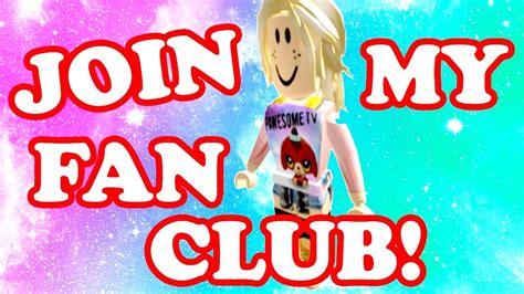 join u2 fan club roblox join my fan club gamingwithpawesometv youtube