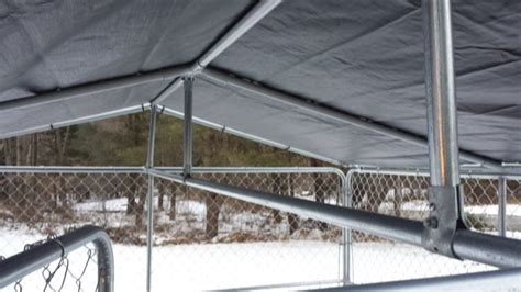 10x10 kennel roof winterproof your kennel all