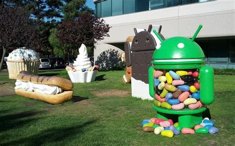 android statues gets a new android lawn sculpture but it s not what you think pocketnow