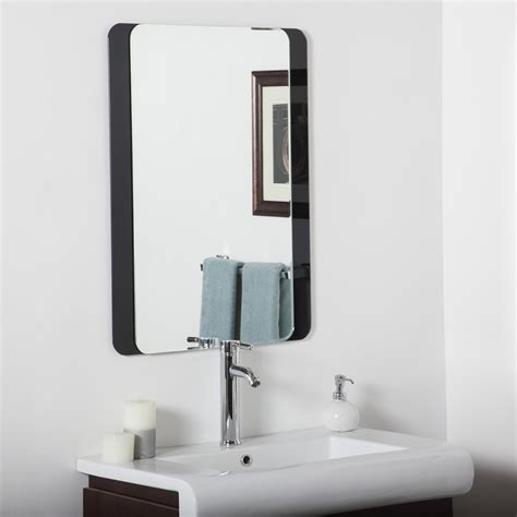 decorative bathroom wall mirrors decor wonderland skel bathroom wall mirror beyond stores