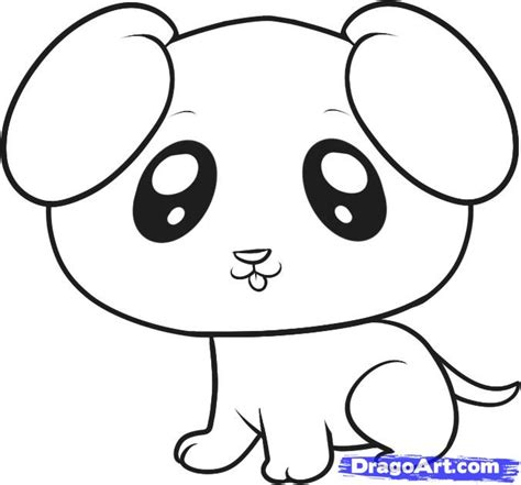 how to draw puppy how to draw a puppy for step by step animals for for free