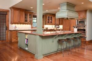 green kitchen island 1kitchen