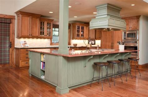Kitchen Island Colors by Green Kitchen Island 1kitchen