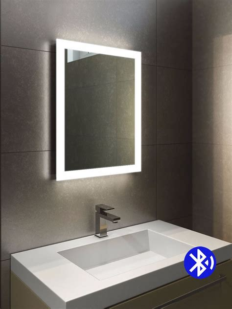 Led Light Bathroom Mirror Audio Halo Led Light Bathroom Mirror Light Mirrors