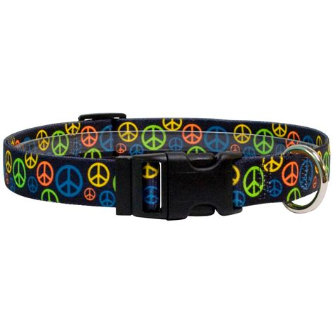 peace puppies neon peace collars free shipping overnight delivery available