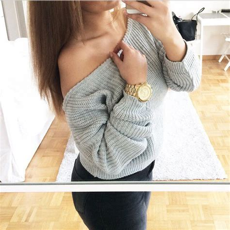 boat neck glittery knitted sweater sweater grey sweater grey gold watch fashion jeans