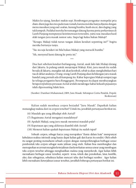 membuat cerpen kewirausahaan k11 bs bhs indo sm1 sma kelas xi kurikulum 2013